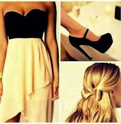 dress and bow