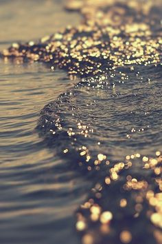♥ Golden wave