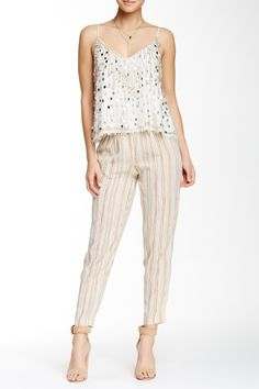 Love these Calypso St. Barth Striped Silk Blend Pants