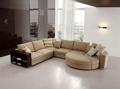 Karisma moderní sedací souprava rohová ve světlé barvě / living room sofa