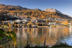 Enjoy st Moritz @stmoritz @badruttspalace @carltonstmoritz #stmoritz #stmoritzsoul #autumn #colors #foliage #lake #panorama #view #love… St Moritz, Grand Canyon, Saints, Autumn, Colors, Nature, Travel, Instagram, Naturaleza