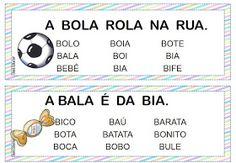 Ficha de leitura alfabeto colorido                                                                         Fonte:http://danizinhaeduca.b...