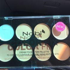Nabi cream contour palette! New! Color fix! Corrector, contour palette. 8 colors in creme! Nabi Makeup Concealer