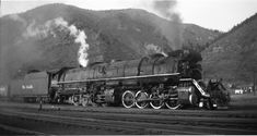 DRGW 3619 in Minturn, Col., at the foot of Tennessee Pass. The were used for helper service to get loads up the ruling grade. Tracks are still there, but we haven't seen trains since Train Museum, Abandoned Train, Railroad Photography, Train Pictures, Train Engines, Train Car, Steam Engine, Steam Locomotive, Rio Grande