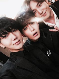 Yesung, Ryeowook, and Kangin