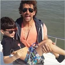 Hrithik Roshan | Man enough to foot his share of the parenting duties.