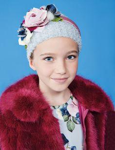MONNALISA CHIC Fall Winter 2017 #Monnalisa #chic #girl #newcollection #fw17 #kids #childrenswear #abbigliamento #bambina #romantic
