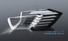 BMW Vision EfficientDynamics, Design Sketch Exterior, Head lamp (08/2009)