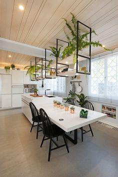 Office Interior Design, Kitchen Interior, Kitchen Decor, Interior Decorating, Küchen Design, House Design, Sweet Home, Kitchen Sets, Cuisines Design