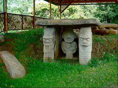 Guardianes de tumbas Cultura precolombina de San Agustín Huila Colombia | Flickr - Photo Sharing!
