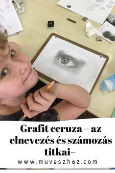 Tudod mit jelent a grafitceruzán a betű? Ime a válasz: Kattints Draw, Iphone, To Draw, Sketches, Painting, Tekenen, Drawing