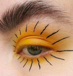 "Makeup photography gold eyes Best Ideas History of eye makeup ""Eye care"", in other Makeup Goals, Makeup Inspo, Makeup Art, Makeup Inspiration, Beauty Makeup, Hair Makeup, Clown Makeup, Makeup Items, Eye Makeup Blue"
