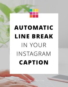 Follow these steps to automatically add line break in Instagram caption. Add space between the paragraph in your caption.