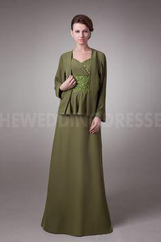 Spaghetti Strap Classic Green Mother Of Bride Dresses - Order Link: http://www.theweddingdresses.com/spaghetti-strap-classic-green-mother-of-bride-dresses-twdn5017.html - Embellishments: Beading; Length: Floor Length; Fabric: Satin; Waist: Natural - Price: 148.0127USD