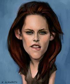 Kristen Stewart Artist: Kacey Schwartz website: http://kaceyschwartz.blogspot.com/