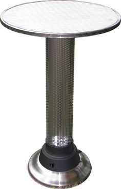 Pub Table With Built In Electric Heater