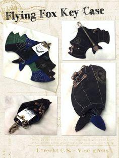 Leather Handicraft Key Case FlyingFox Key Case, Handicraft, Ankle, Boots, Leather, Fashion, Craft, Crotch Boots, Moda