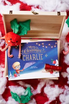 Personalised Magical Christmas Adventure Story Livre et Personalised Ours Cadeau