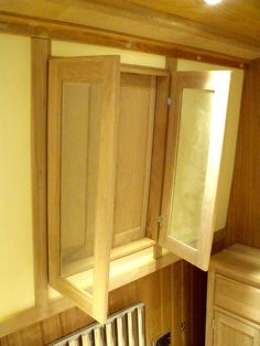 This side hatch has both inner glazed doors and solid outer doors. For more inspiration and ideas for your canal boat windows and hatches visit www.thefitoutpontoon.co.uk your resource and directory for canal boat buying, planning & building