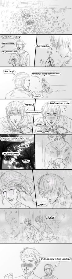 Dragon Age Inquisition- Comic- Pretty by MsArtisticStuff on DeviantArt >>> if only cole was romanceable...