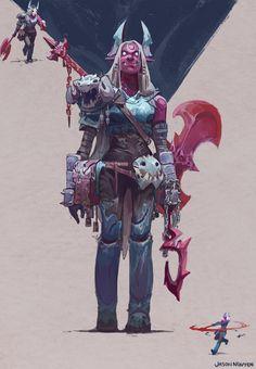 ArtStation - Character Designs!, Jason Nguyen