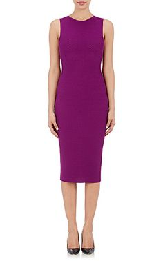 Victoria Beckham Textured Signature Sheath Dress - Dresses - 504626515
