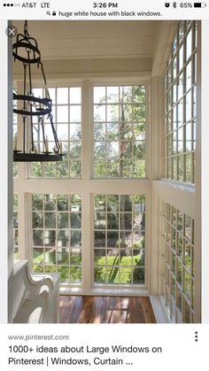 Elegant Windows To The Floor