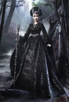 Queen of the Dark Forest Barbie Doll
