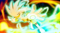 Silver the Hedgehog - this picture is EPIC!