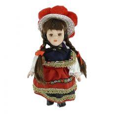 Schwarzwald Puppe aus Porzellan  Hersteller: ( Kein Hersteller )  Gewicht: 0.10 Kilogramm  Preis: €9,90 (inkl. 19 % MwSt.)  Preis: €8.32 (Tax Free)