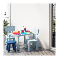 Mammut Children S Table Light Blue Indoor Outdoor 30 3 8x21 5