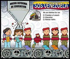 Cuba-style indoctrination of children in Venezuela's schools -  (facebook) CHAVEZLACAGANDA (AHORA LA CAGA EN TWITTER)
