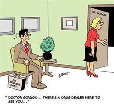 Who'd be a pharmaceutical rep?!