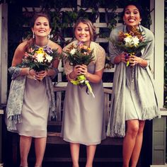 Who said weddings are always serious?! Our bridesmaids are wearing Turan, Milda and Harper Ann   Available in sizes 8-10. Sample sale $60