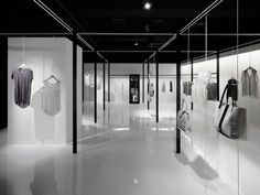 Beige is a women's clothing brand based in Japan, launched by Onward Kashiyama. The minimalist store interior was recently completed by Nendo, and represents the clothing's focus on simple and functional designs. Nendo ensured the philosophy of the shop would coincide with the brand's concept.