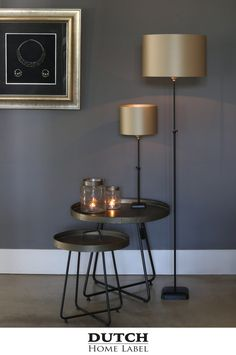 [New] The 10 Best Home Decor Ideas Today (with Pictures) - Classic Black & Gold Matt Black Floor Lamp Height) with Gold Shade Was 180 Now 125 while stocks last contact Tramway Lighting Douglas for further queries Living Room Decor, Bedroom Decor, Black Floor Lamp, Metal Wall Decor, Interior Lighting, Luxury Living, Sweet Home, Interior Decorating, Design