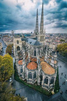 Pierre L'Excellent | Bordeaux - Cathédrale Saint-André vue depuis la Tour Pey-Berland