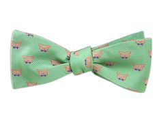 The Signature - Spearmint (JTF Bow Ties) | Ties, Bow Ties, and Pocket Squares | The Tie Bar