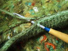 Сто первый вариант декорирования края валяного полотна - Ярмарка Мастеров - ручная работа, handmade