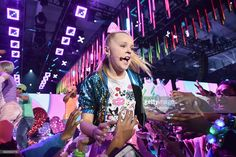 JoJo Siwa performs onstage during 2016 Nickelodeon HALO Awards at... News Photo | Getty Images