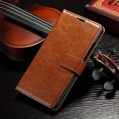 Vintage Wallet PU Leather Case for Huawei P8  with Stand and Card Holder Phone Bag Luxury Flip Cover Brown White-in Phone Bags & Cases from Phones & Telecommunications on Aliexpress.com | Alibaba Group