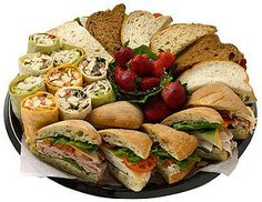SGC Sandwich Platter by Saint Germain Catering, via Flickr