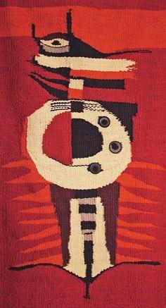 BKM Abstrakcja Czerwona (Gobelin) (proj. MICHALEK)