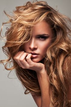copper hair with blond and brown