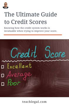 Credit score looking a bit rocky?  New on our blog today: The Ultimate Guide to Credit Scores 📈  These are the basics. But having a good understanding of the inner workings of the credit system is invaluable information and can truly change your perspective when trying to improve your score.