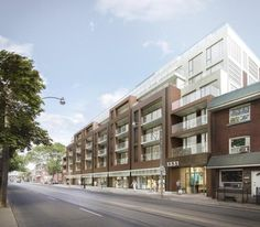 George Condos and Towns at Leslieville is a New Condo Townhome development by Rockport located at Queen E and Leslie , Toronto.  George Condos & Towns at Leslieville is a new condo & townhome at Queen St E & Leslie St, Toronto. George Condos and Townhomes will have 8 storeys and 80 suites.