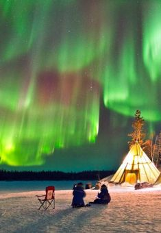 Photographer captures spectacular Aurora Borealis display dancing over Auroras Village in Yellowknife, Canada. Aurora Borealis From Space, Northern Canada, See The Northern Lights, Milky Way, Night Skies, Alaska, Places To Go, Display, Nature