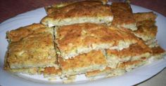Zucchini pie without filo Greek Recipes, Desert Recipes, Quick Recipes, Greek Cooking, Cooking Time, Cooking Recipes, Greek Appetizers, Middle East Food, Savory Muffins