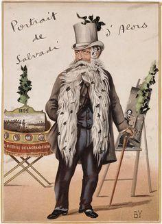 ¤ Portrait de Salvadi d'Alors (Salvador Dali) par Jacques Prévert (1900-1977) http://www.photo.rmn.fr/C.aspx?VP3=SearchResult