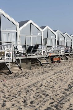 Strandhäuser-Julianadorp-Holland
